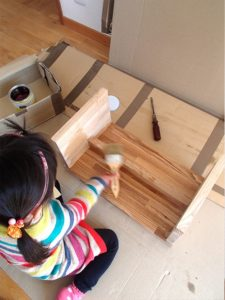 子供の学習机
