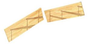 階段加工  ボックスプレカット 廻り側板