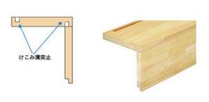 段板・けこみ板組立加工(一体化)