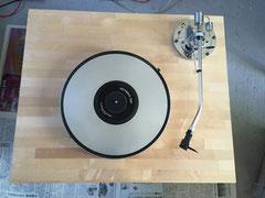 カバ桜集成材のレコードプレーヤーボード