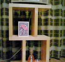 カバ桜集成材の自作CDプレーヤーの置台