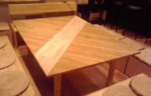 ゴム積層材のテーブルのつなぎ