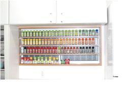 ゴム集成材のキッチン調味料の棚
