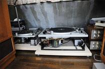 タモのアンプ台レコード台