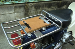 タモ集成材のバイク荷台用のベース