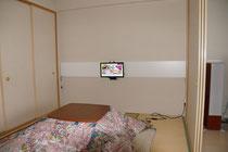壁面テレビかけ