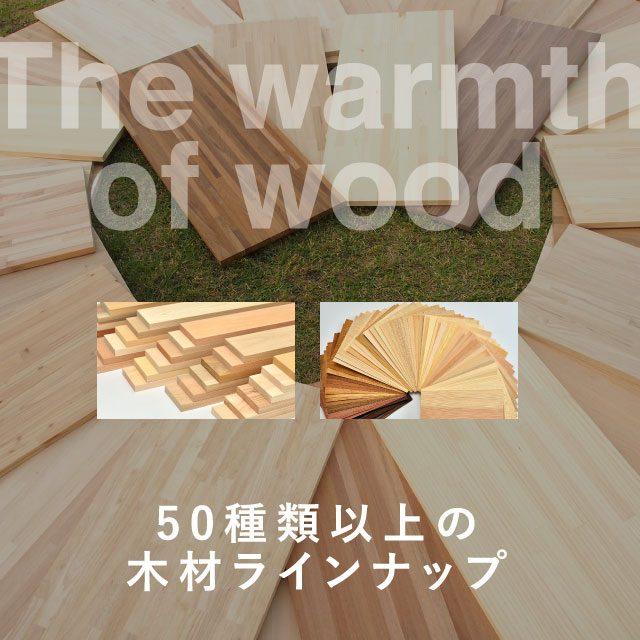 材木商店 取扱樹種一覧