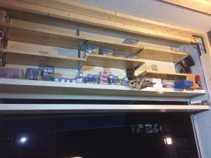 ゴム積層材(集成材)の棚板