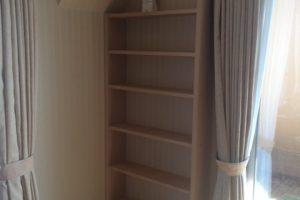 Lさまの自作本棚