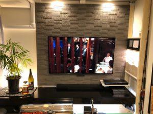ゴム積層材(集成材)のTVボード
